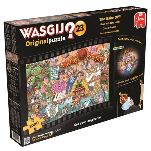 Wasgij Original 23 - The Bake Off 1000 Piece Jigsaw Puzzle - All Jigsaw Puzzles UK  - 2