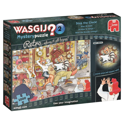 Jigsaw Puzzle - Wasgij Retro Mystery 2 Stop The Clock! 1000 Piece Jigsaw Puzzle