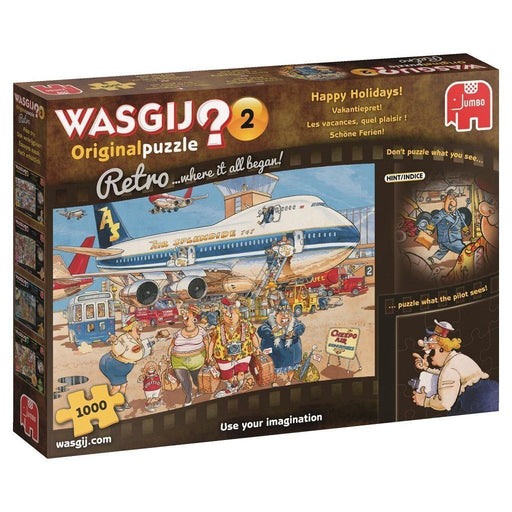 Jigsaw Puzzle - Wasgij Retro Original 2 Happy Holidays! 1000 Piece Jigsaw Puzzle