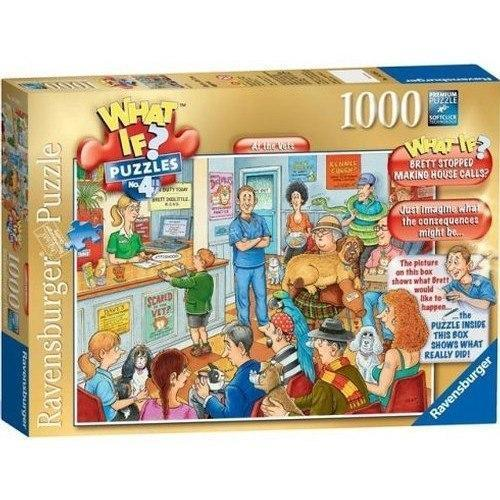What If ? No 4 - At the Vets 1000 Piece Jigsaw Puzzle - All Jigsaw Puzzles UK