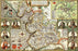Lancashire 1610 Historical Map 300 Piece Wooden Jigsaw Puzzle