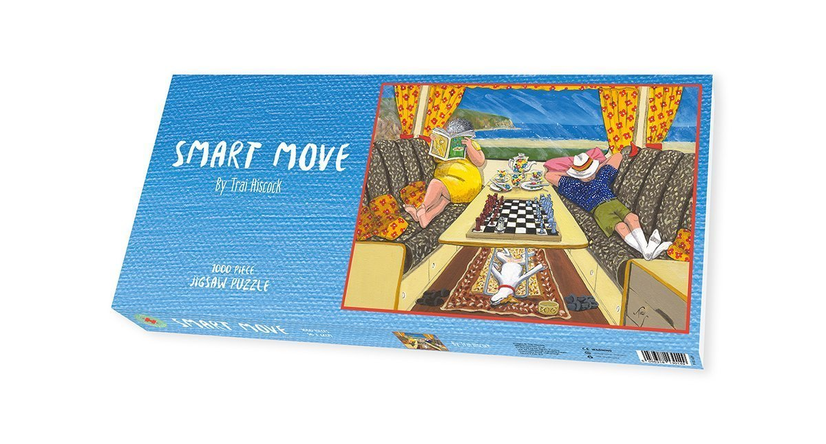 Camping Jigsaw Puzzle - Trai Hiscock Smart Move - All Jigsaw Puzzles
