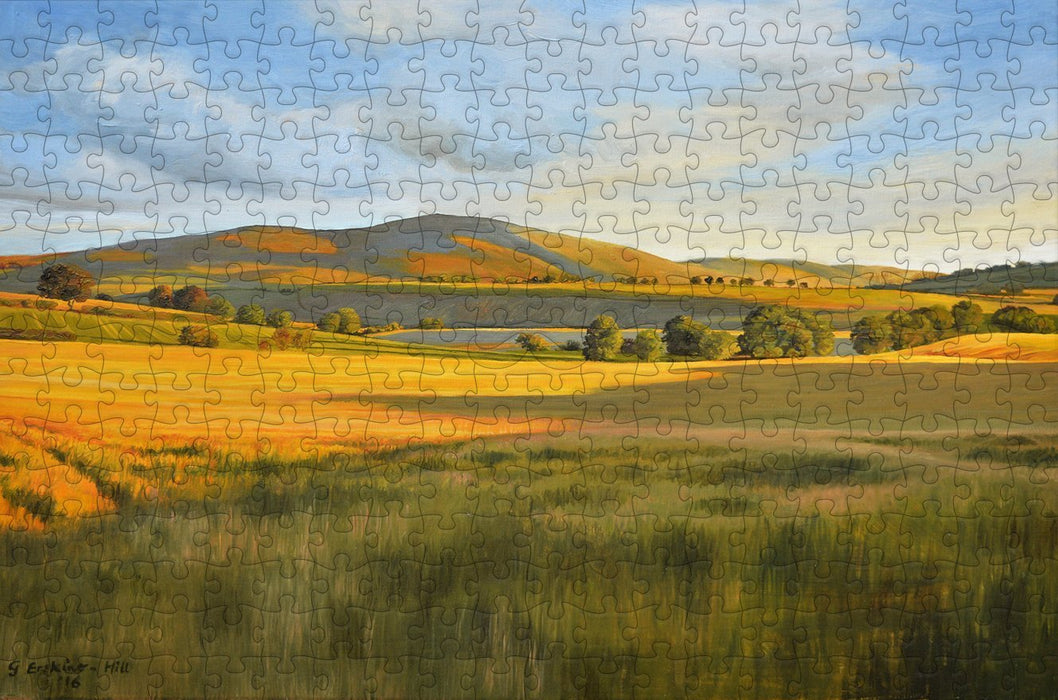 Tinto - Scottish Borders 300 Piece Wooden Jigsaw Puzzle