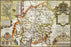 Westmoreland 1610 Historical Map 300 Piece Wooden Jigsaw Puzzle