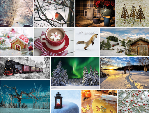 Wonderful Winter 1000 Piece Jigsaw Puzzle