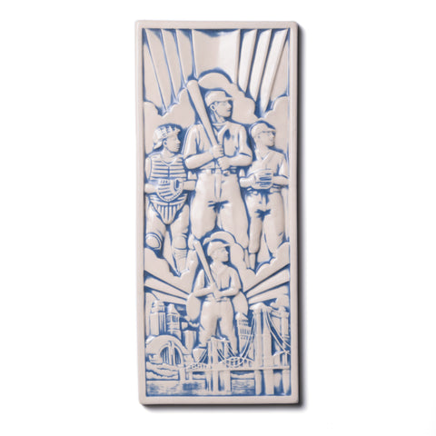 Spirit of Baseball Tile