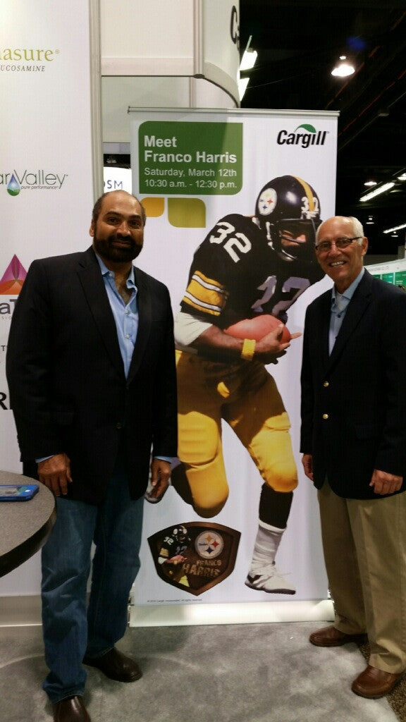 Natural Food Expo West: Franco Harris and Dr. Pete Bordi