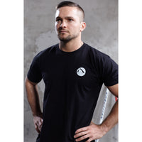 SilverTee™ - Antimicrobial Workout Shirt Men's Black