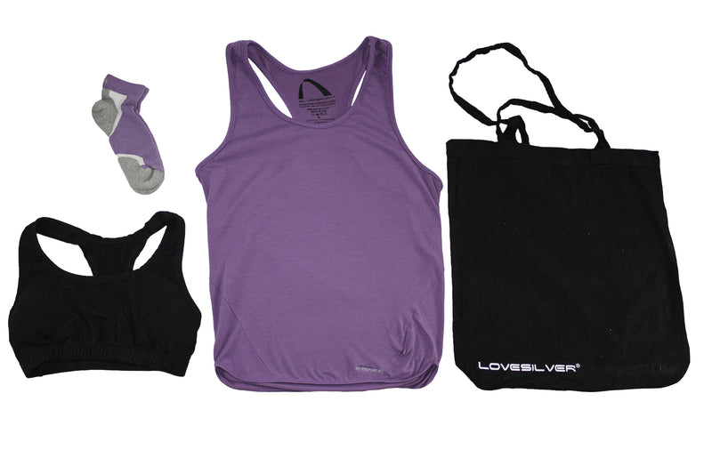 LoveSilver Bundle - Anti Microbial and Odor Free Clothing