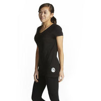 Deep V-Neck SilverTee™ - Anti Microbial and Odor Free Clothing