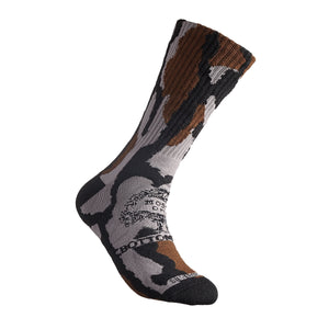 Crew Sock - Mossy Oak Camo - Anti Microbial and Odor Free Clothing