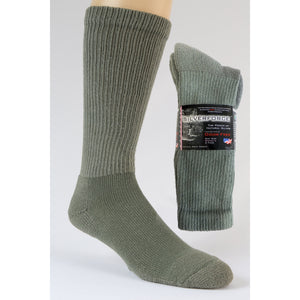Boot Sock Mens - 2PK - Anti Microbial and Odor Free Clothing