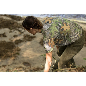 SilverTee™ - Mossy Oak Camo - Anti Microbial and Odor Free Clothing