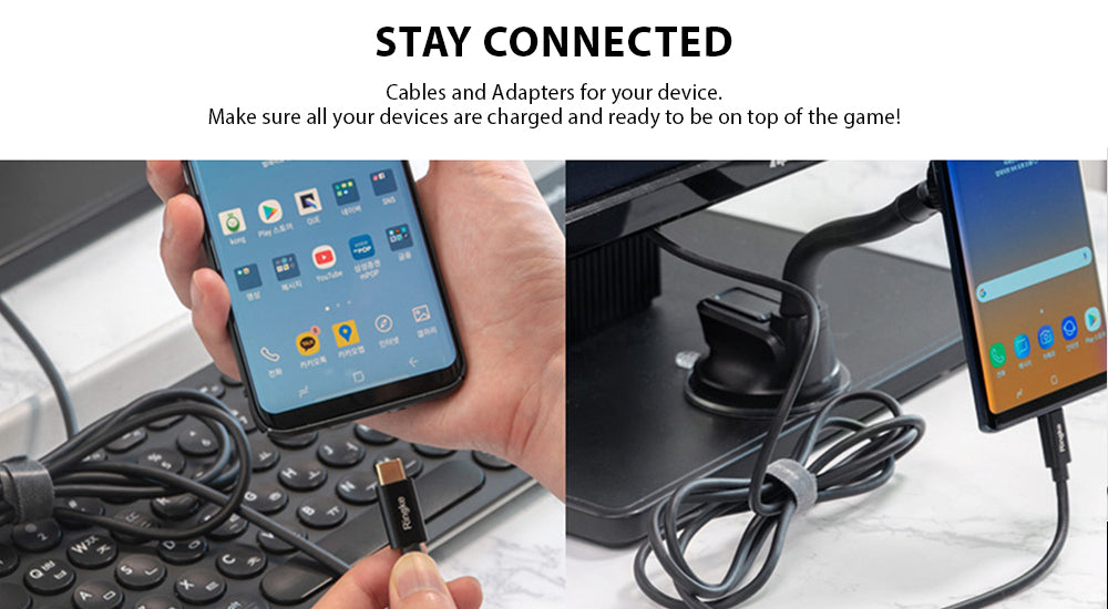 how to prepare work from home by ringke usb cables