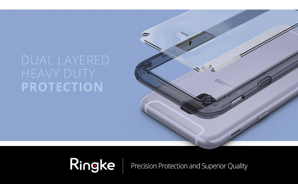 ringke fusion case for galaxy a6 2018