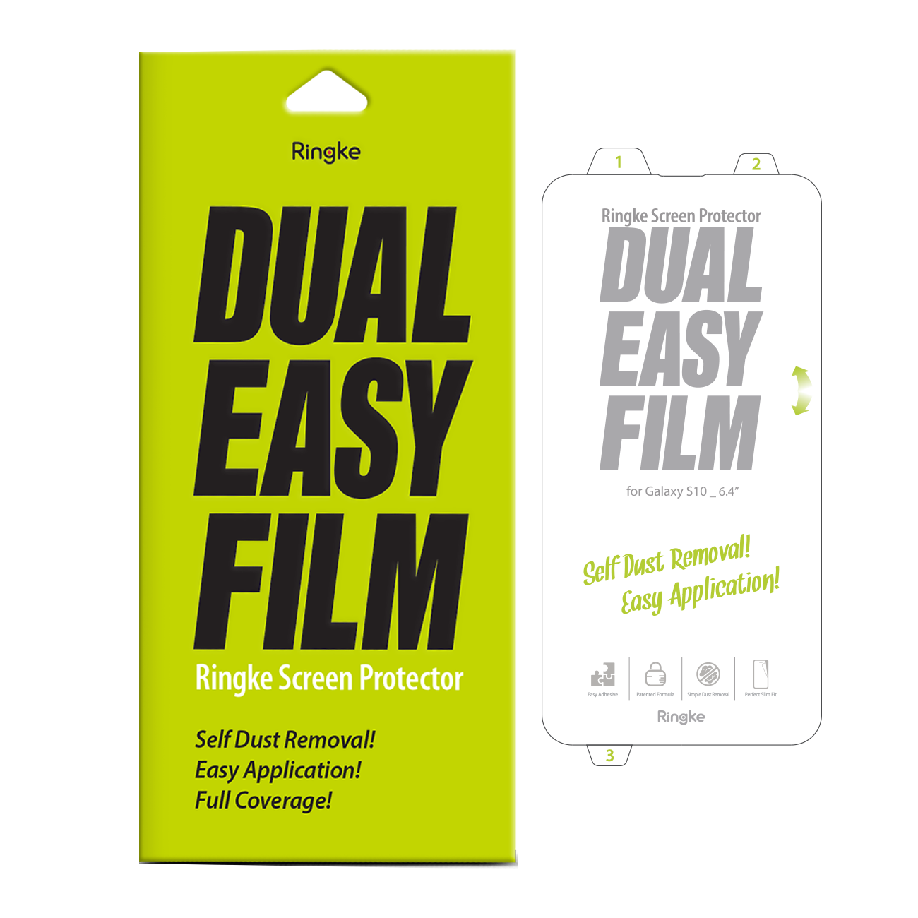 NEW Ringke DUAL EASY SCREEN PROTECTOR