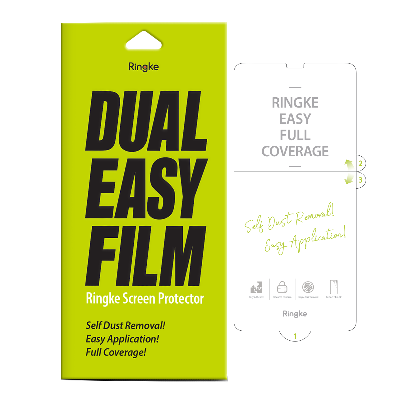 Ringke DUAL EASY SCREEN PROTECTOR