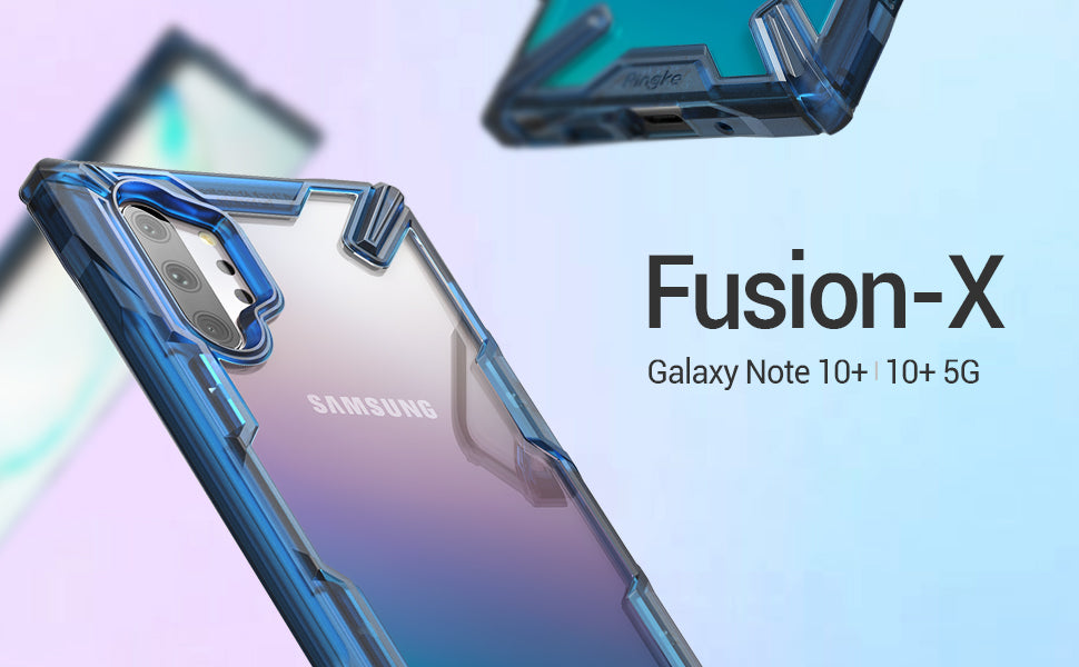 Ringke Fusion-X for Galaxy Note 10 Plus 5G (2019) Space Blue & Black