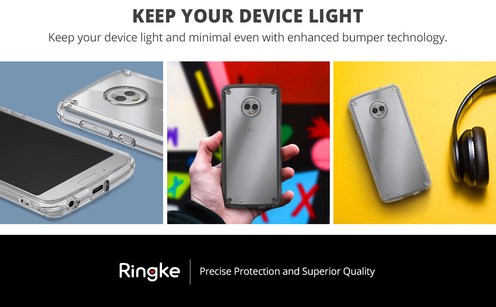 ringke fusion case for moto g6
