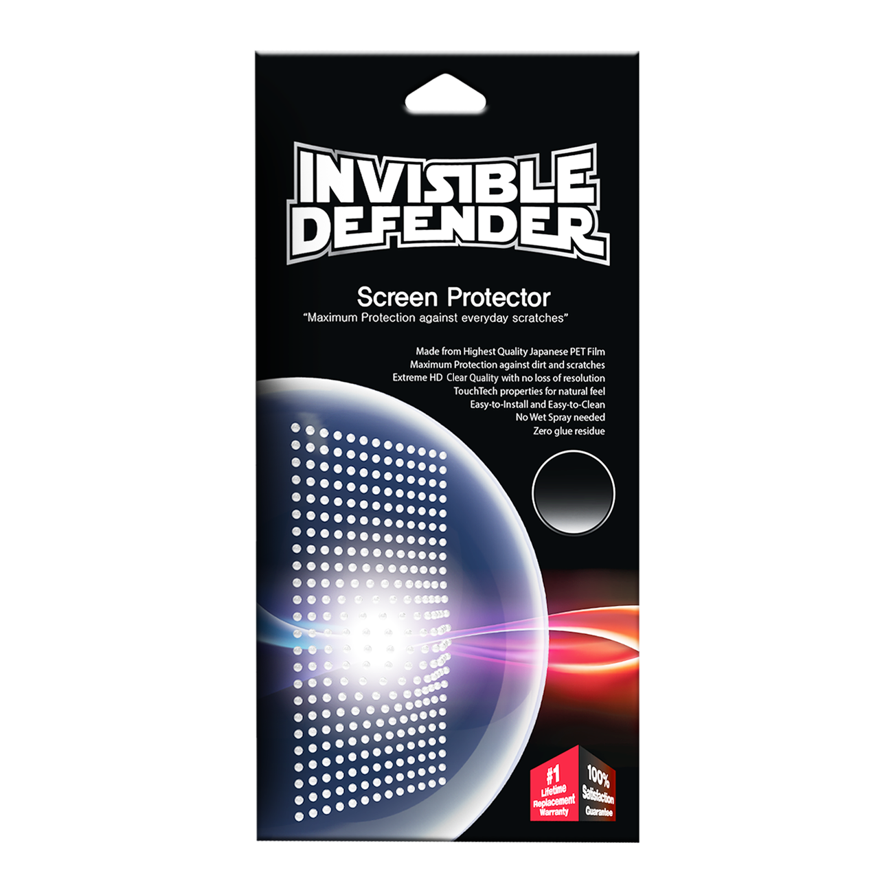 Invisible defender screen protector