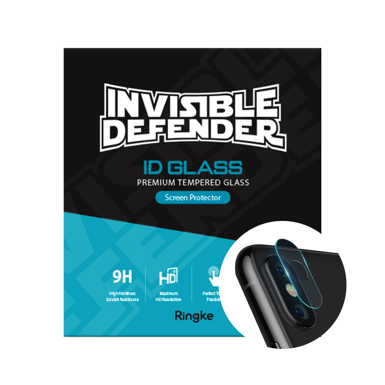 Invisible Defender Glass Camera Lens PROTECTOR