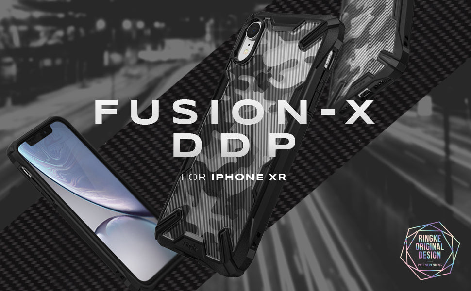 ringke iphone xr fusion-x ddp