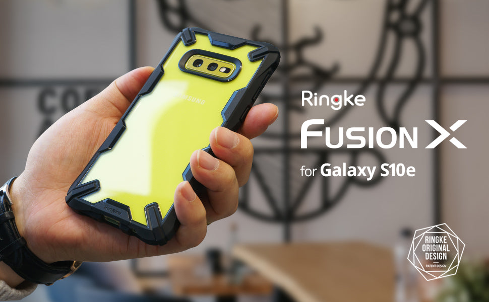 "Ringke Fusion-X Designed for Galaxy S10e (5.8"") Case"