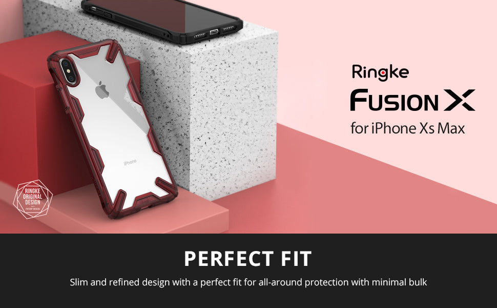 ringke fusion-x case designed for iphone xs max