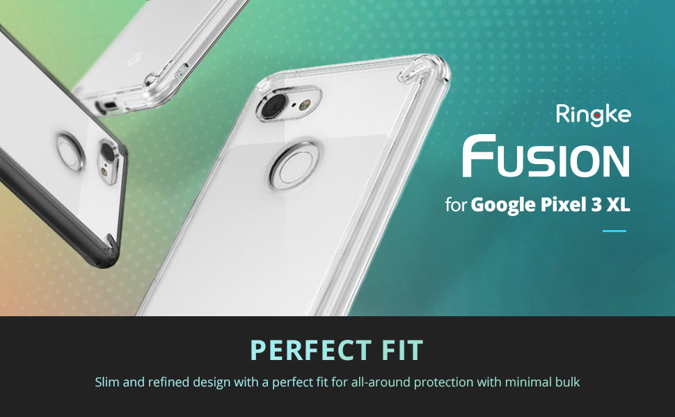 Ringke [Fusion] Compatible with Pixel 3 XL Case