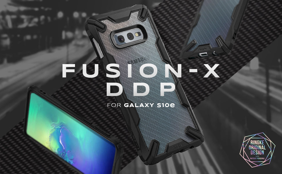ringke galaxy s10e fusion-x design case