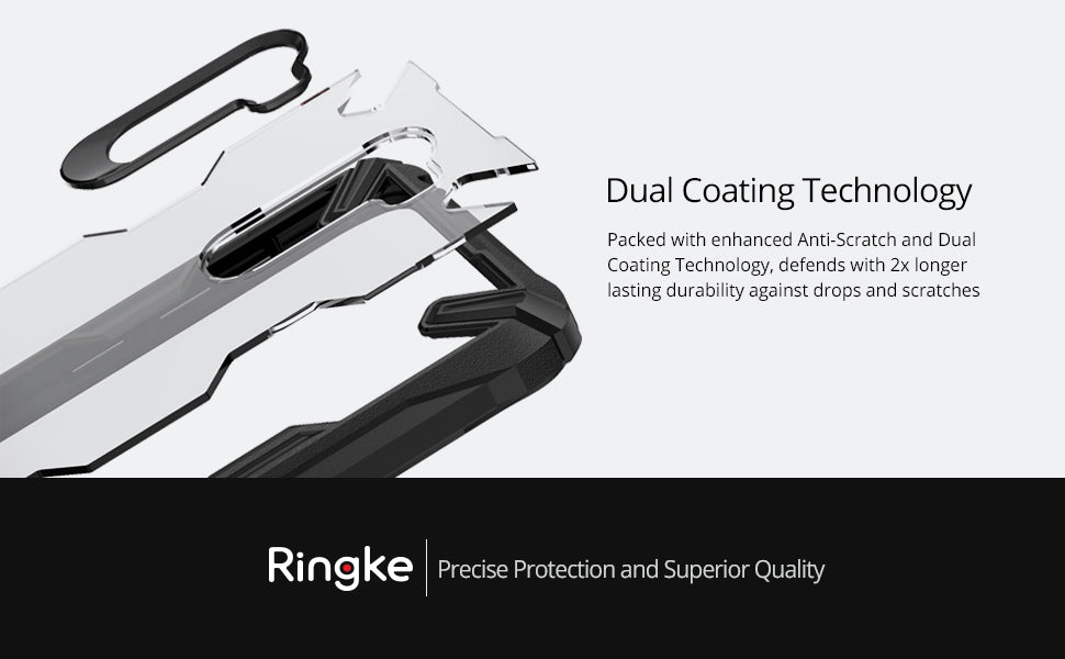 Ringke [Fusion-X Compatible with Pocophone F1 Case