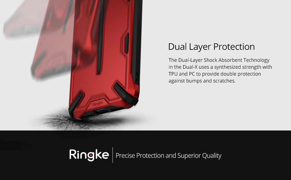 Ringke Dual-X Compatible with iPhone Xs Max Case