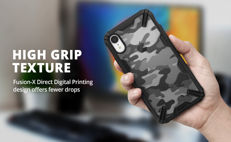 ringke fusion-x ddp case compatible with iphone xr