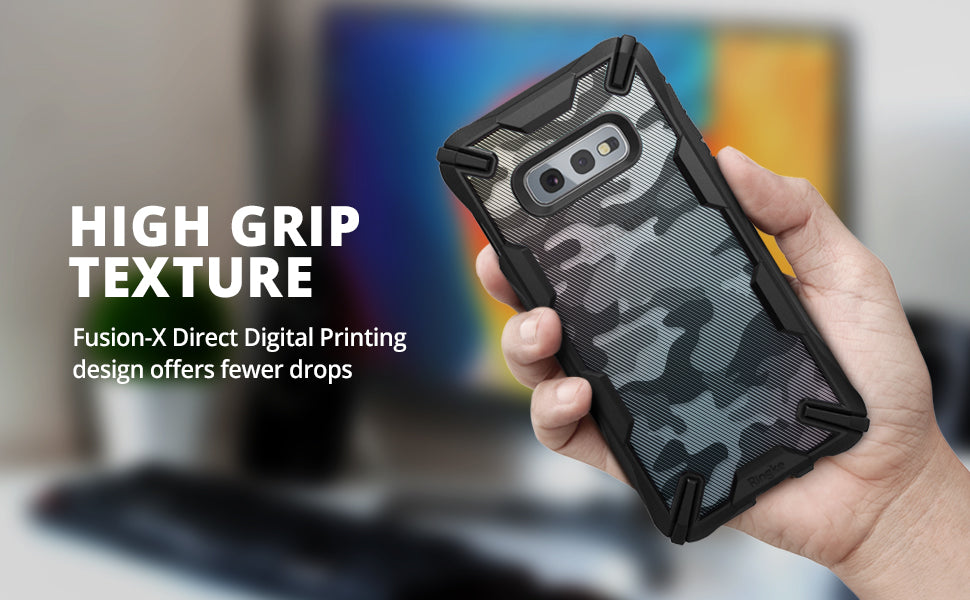 Ringke Fusion X Design DDP Compatible with Galaxy S10e Case