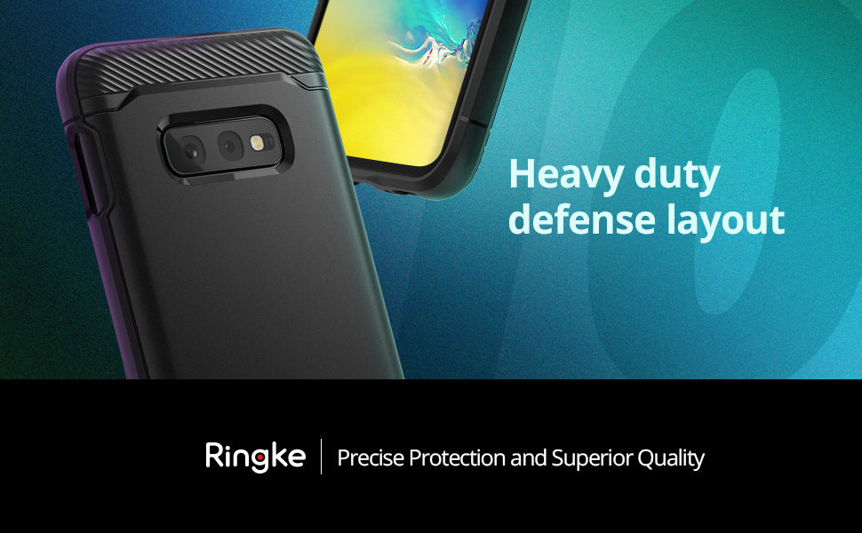 "Ringke [Onyx] Compatible with Galaxy S10e (5.8"") Case"