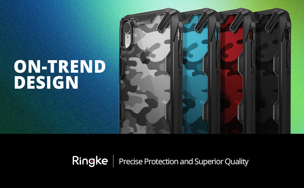 ringke fusion-x ddp case designed for iphone xr