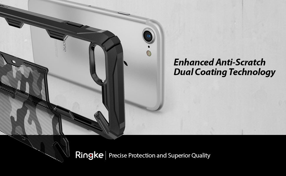 Ringke Fusion X Designed DDP Compatible with iPhone 8 Case, iPhone 7