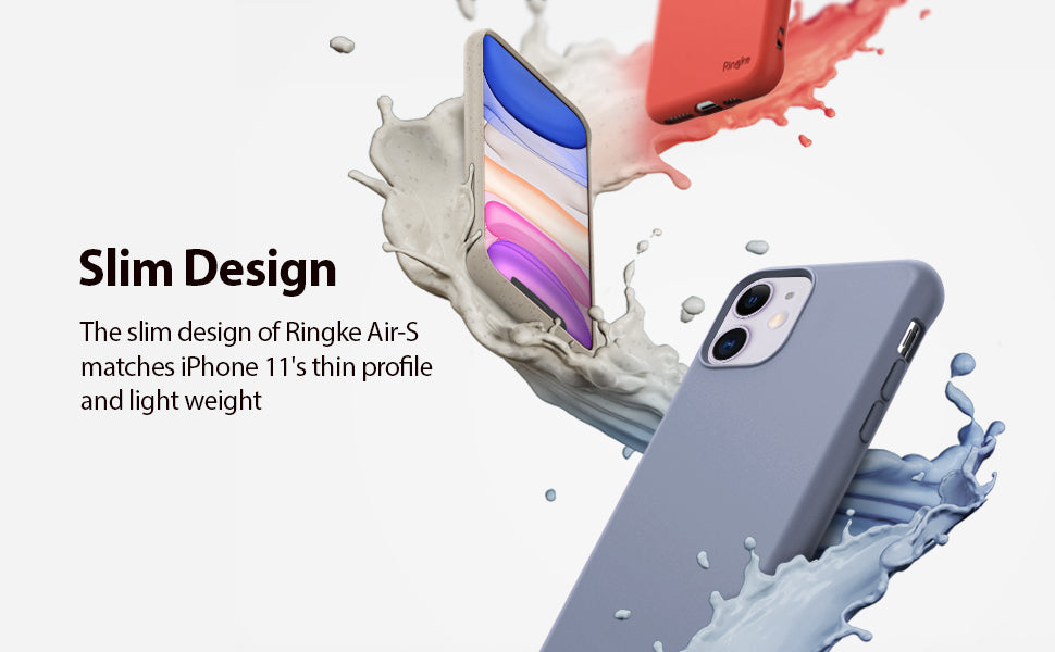 Ringke Air-S Designed for iPhone 11 Case, iPhone XI Case, iPhone 11R Case Cover (2019)