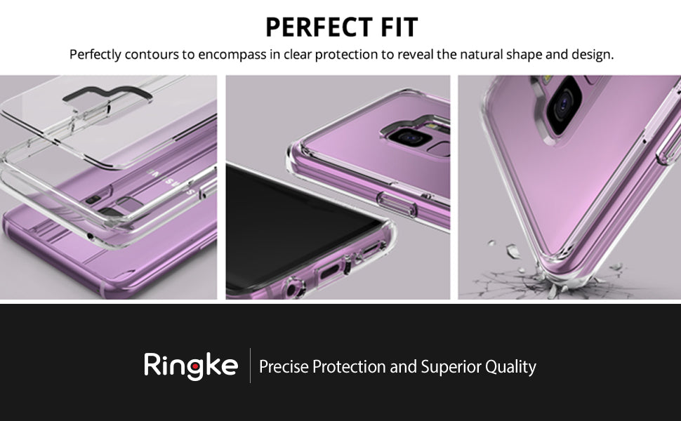 Ringke [Fusion] Compatible with Galaxy S9 Case