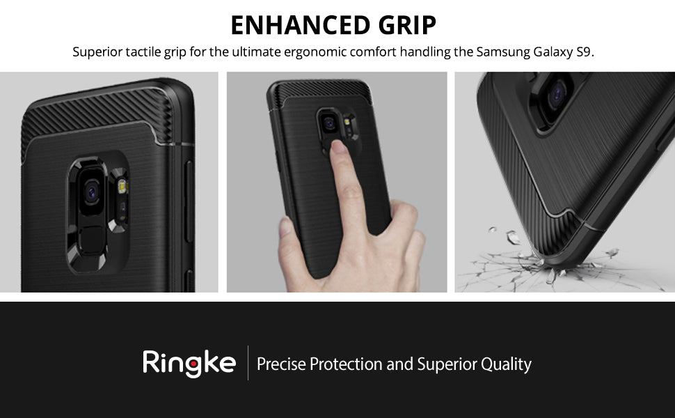 Ringke [Onyx Compatible with Galaxy S9 Case