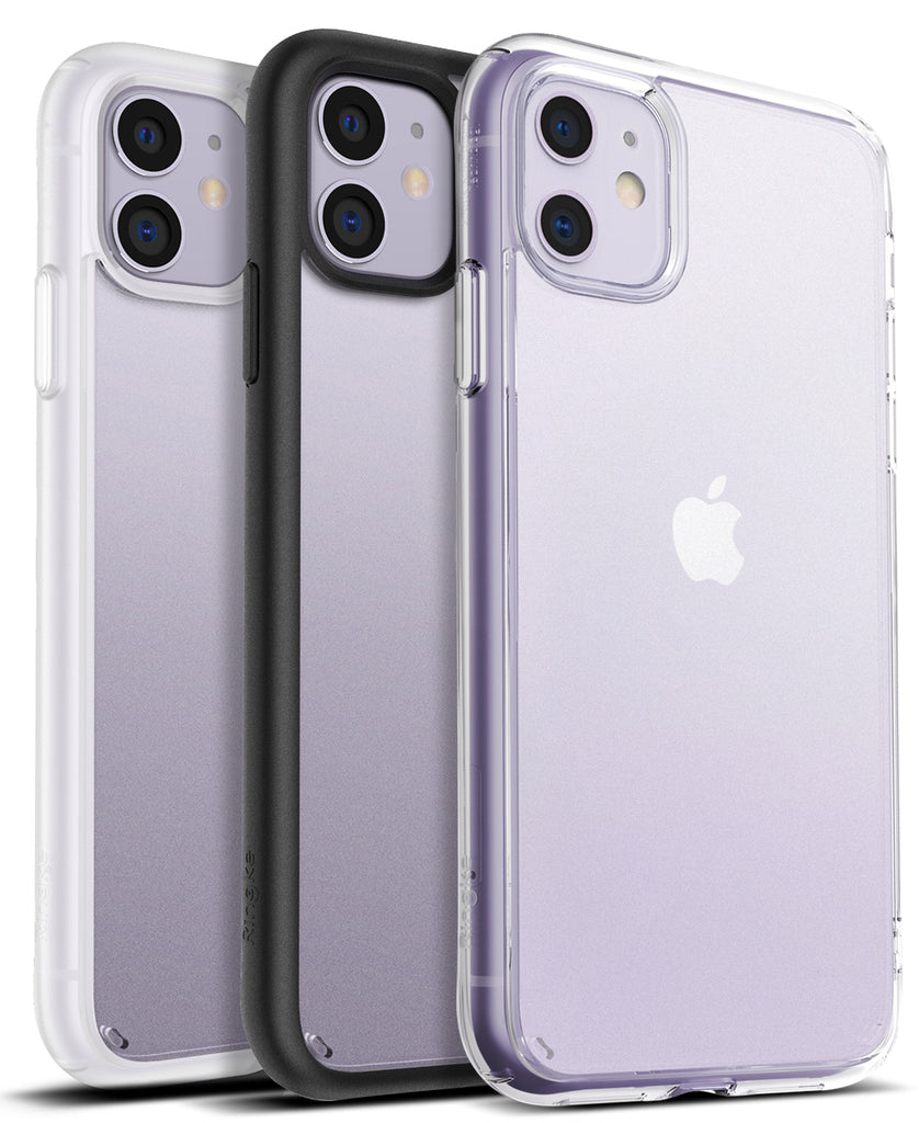 Ringke Fusion Matte for iPhone 11 Anti-Fingerprint Frosted PC Case