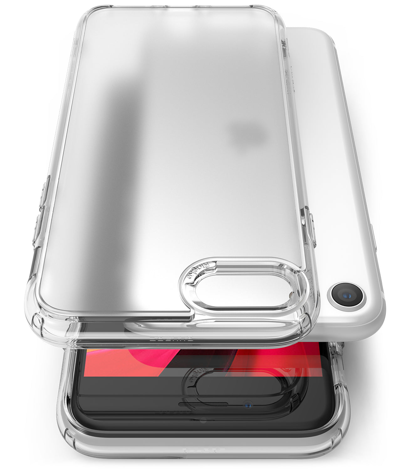 ringke fusion no smudge mattte clear case for apple iphone se 2020 / iphone 8