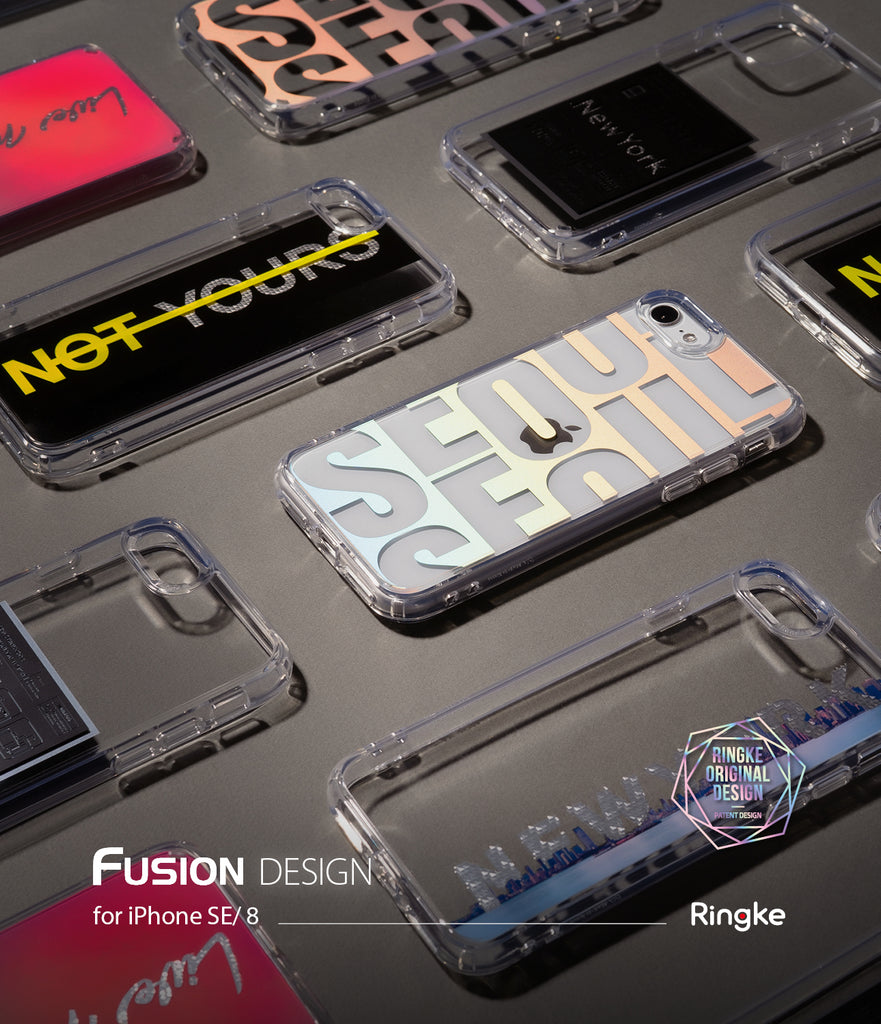 iPhone SE 2020 Case | Fusion Design 01. Seoul