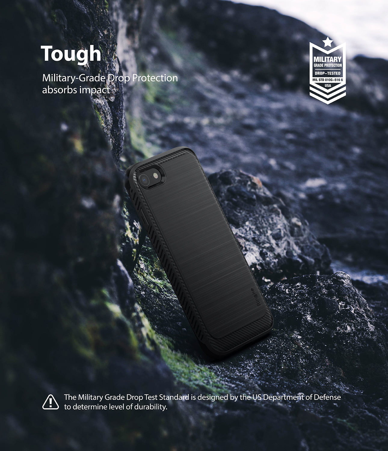ringke onyx rugged design tpu case cover for iphon 7 8 main black tough