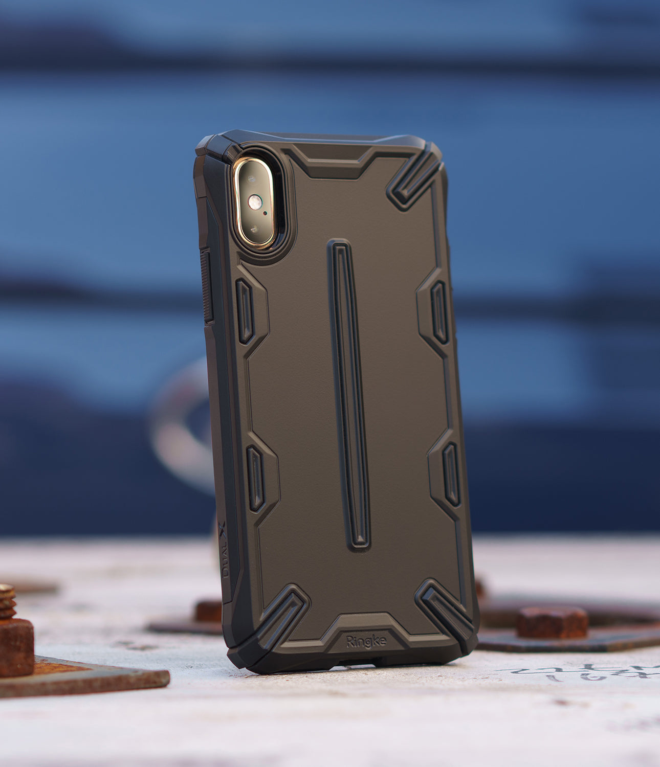 ringke dual-s for iphone xs case cover main black