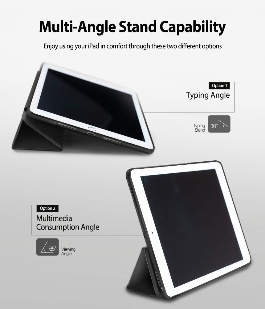 multi angle stand capability - for typing and multimedia consumption