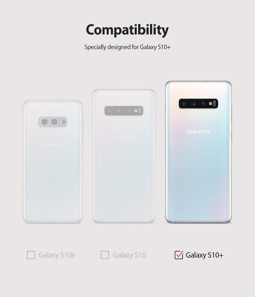 only fits galaxy s10 plus