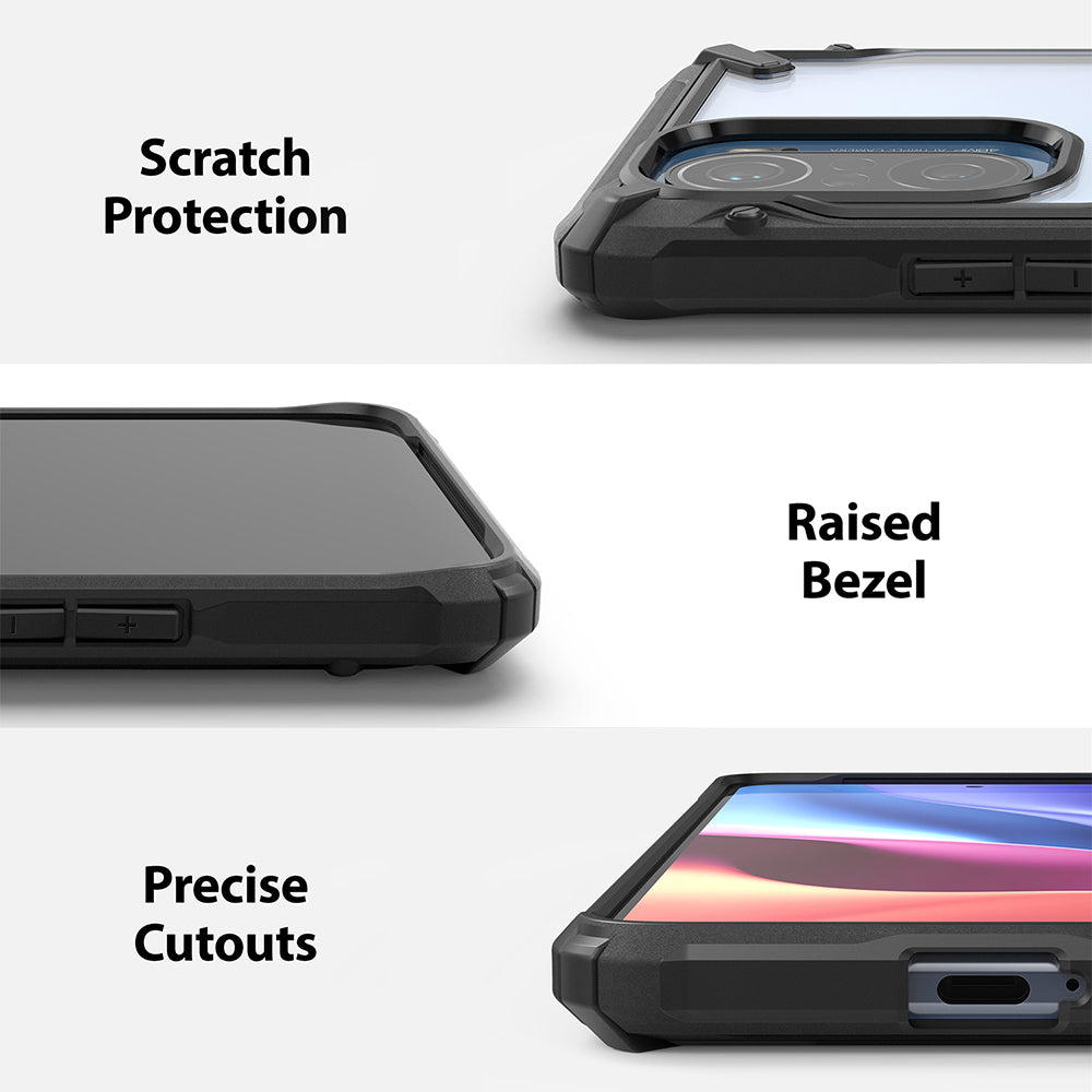 scratch resistant protection with raised bezel