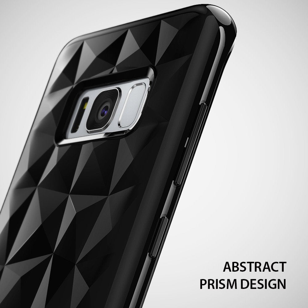 Samsung Galaxy S8 Plus Case, Ringke® [AIR PRISM] 3D Contemporary Design Slim Flexible TPU Protective Case