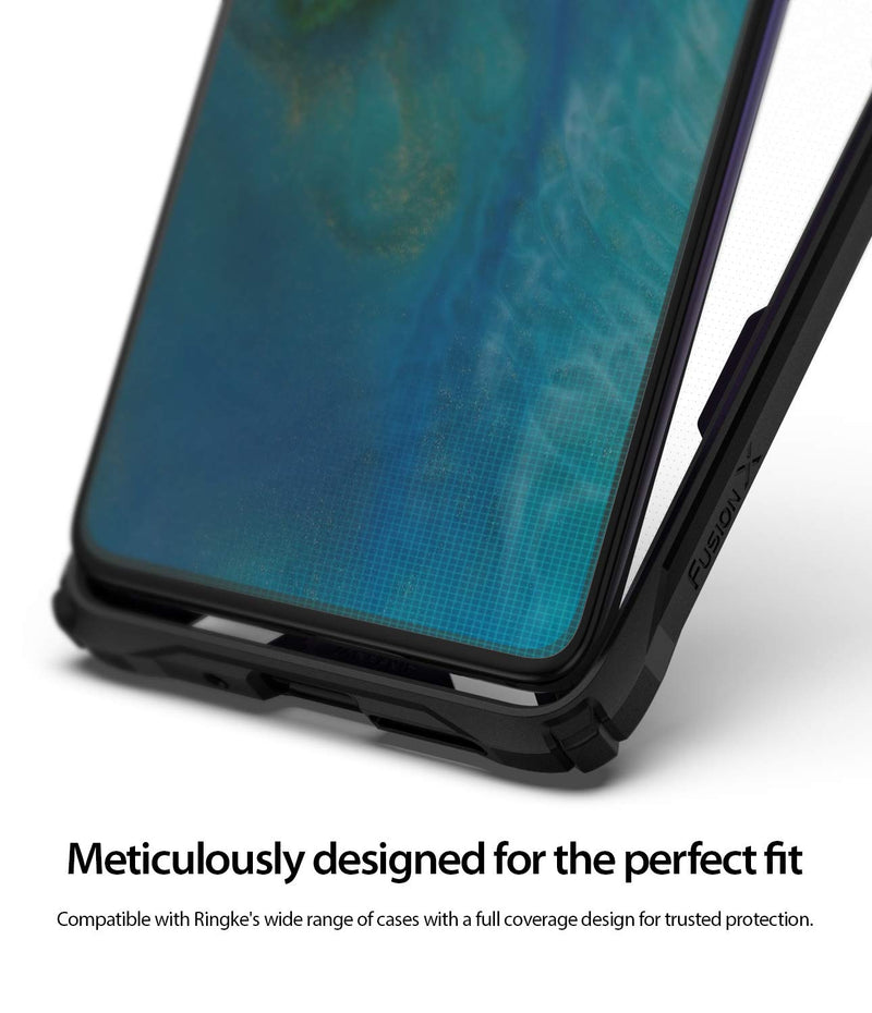 Huawei Mate 20 [Dual Easy Full Cover] Screen Protector [2 Pack]
